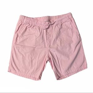 DIVIDED H&M Mens Pink Cotton Shorts Size M